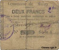 2 Francs FRANCE régionalisme et divers MALZY 1915 JP.02-1429 TB