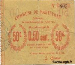 50 Centimes FRANCE régionalisme et divers  1915 JP.02-1445 TTB