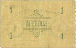 1 Franc FRANCE régionalisme et divers MARTEVILLE 1915 JP.02-1446 pr.TTB