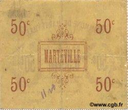 50 Centimes FRANCE régionalisme et divers MARTEVILLE 1915 JP.02-1450 TTB