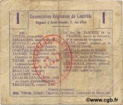 1 Franc FRANCE régionalisme et divers MONTBREHAIN 1916 JP.02-1558.BRU TB