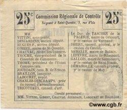 25 Centimes FRANCE régionalisme et divers  1916 JP.02-1558.BRU TTB