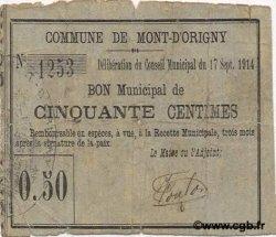 50 Centimes FRANCE régionalisme et divers  1914 JP.02-1561 TB