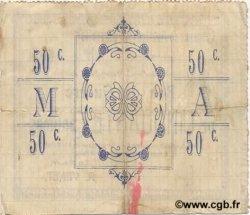 50 Centimes FRANCE régionalisme et divers MONTIGNY EN ARROUAISE 1915 JP.02-1586 TTB