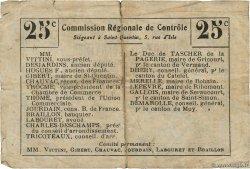 25 Centimes FRANCE régionalisme et divers  1916 JP.02-1591.BRU TB