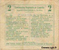 2 Francs FRANCE régionalisme et divers MONTIGNY EN ARROUAISE 1916 JP.02-1591.BRU TTB