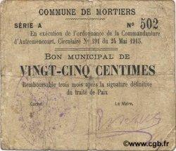 25 Centimes FRANCE régionalisme et divers  1915 JP.02-1605 TB