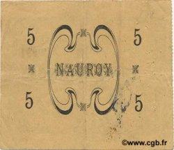 5 Francs FRANCE régionalisme et divers NAUROY 1915 JP.02-1629 TTB