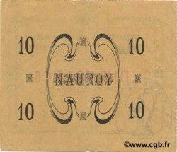 10 Francs FRANCE régionalisme et divers NAUROY 1915 JP.02-1637 TTB