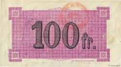 100 Francs FRANCE régionalisme et divers NAUROY 1916 JP.02-1639.SQG TTB