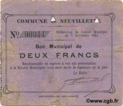 2 Francs FRANCE régionalisme et divers  1914 JP.02-1657 TB