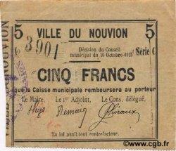 5 Francs FRANCE régionalisme et divers  1915 JP.02-1683 TTB