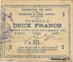 2 Francs FRANCE régionalisme et divers  1915 JP.02-1708 TTB