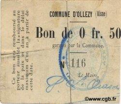 50 Centimes FRANCE régionalisme et divers  1916 JP.02-1714v TB