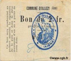 2 Francs FRANCE régionalisme et divers OLLEZY 1916 JP.02-1716 TTB