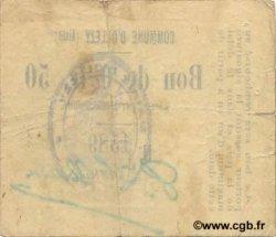 50 Centimes FRANCE régionalisme et divers OLLEZY 1916 JP.02-1718 TTB