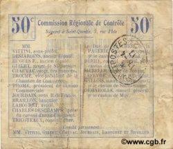 50 Centimes FRANCE régionalisme et divers OMISSY 1916 JP.02-1722.BRU TB+