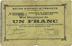 1 Franc FRANCE régionalisme et divers  1914 JP.02-1726 pr.TTB