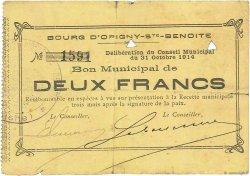 2 Francs FRANCE régionalisme et divers  1914 JP.02-1727 TB+