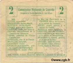 2 Francs FRANCE régionalisme et divers  1916 JP.02-1733v TTB