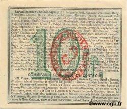 10 Francs FRANCE régionalisme et divers ORIGNY-SAINTE-BENOITE 1916 JP.02-1734.BRU SUP