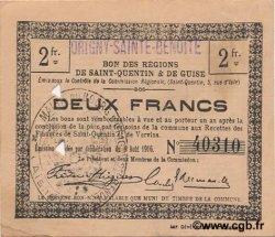 2 Francs FRANCE régionalisme et divers  1916 JP.02-1735.SQG TTB