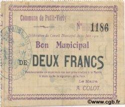 2 Francs FRANCE régionalisme et divers PETIT VERLY 1915 JP.02-1755 TTB