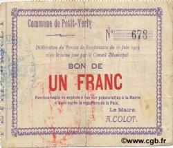 1 Franc FRANCE régionalisme et divers PETIT VERLY 1915 JP.02-1757 TB