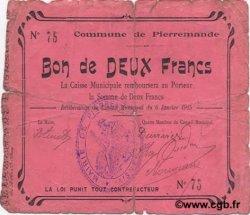 2 Francs FRANCE régionalisme et divers  1915 JP.02-1763 B