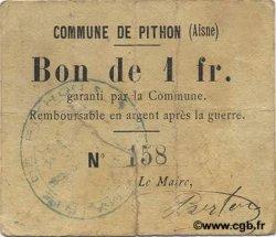 1 Franc FRANCE régionalisme et divers PITHON 1916 JP.02-1771 TB