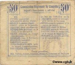 50 Centimes FRANCE régionalisme et divers PONTRU 1916 JP.02-1779.BRU TB