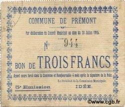 3 Francs FRANCE régionalisme et divers  1915 JP.02-1835 TTB