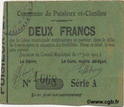 2 Francs FRANCE régionalisme et divers  1915 JP.02-1849 TTB