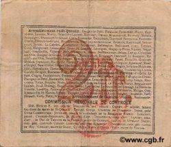 2 Francs FRANCE régionalisme et divers REMIGNY 1916 JP.02-1916.SQG TTB