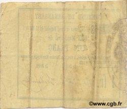 1 Franc FRANCE régionalisme et divers RENANSART 1915 JP.02-1919 TTB