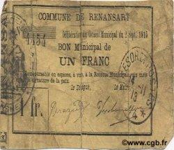 1 Franc FRANCE régionalisme et divers  1915 JP.02-1924 B