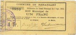 1 Franc FRANCE régionalisme et divers  1915 JP.02-1924 TTB