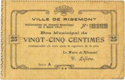 25 Centimes FRANCE régionalisme et divers  1915 JP.02-1929 TTB
