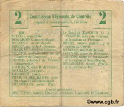2 Francs FRANCE régionalisme et divers  1916 JP.02-1940.BRU TTB