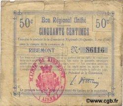 50 Centimes FRANCE régionalisme et divers  1916 JP.02-1940.BRU TB