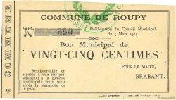 25 Centimes FRANCE régionalisme et divers ROUPY 1915 JP.02-1943 SPL