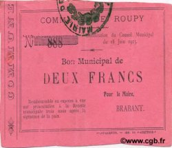 2 Francs FRANCE régionalisme et divers ROUPY 1915 JP.02-1950 TTB