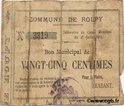 25 Centimes FRANCE régionalisme et divers ROUPY 1915 JP.02-1951 B