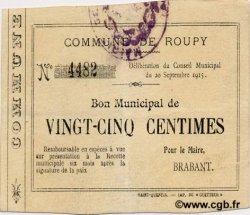 25 Centimes FRANCE régionalisme et divers ROUPY 1915 JP.02-1955 TTB
