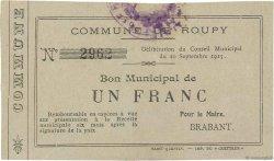 1 Franc FRANCE régionalisme et divers ROUPY 1915 JP.02-1957 TTB