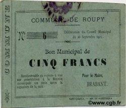 5 Francs FRANCE régionalisme et divers ROUPY 1915 JP.02-1959 TTB