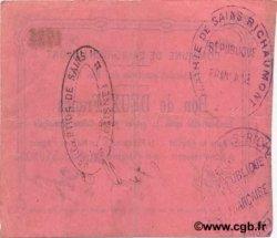 2 Francs FRANCE régionalisme et divers SAINS RICHAUMONT 1915 JP.02-1983 TTB