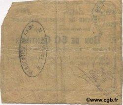 50 Centimes FRANCE régionalisme et divers  1915 JP.02-1987 TB
