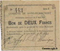 2 Francs FRANCE régionalisme et divers  1915 JP.02-1989 TTB
