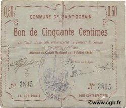 50 Centimes FRANCE régionalisme et divers  1915 JP.02-2007 TB+